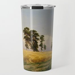 Rye by Ivan Shishkin Travel Mug