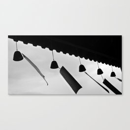 japanese wind bells Canvas Print