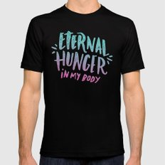 Eternal Hunger Black MEDIUM Mens Fitted Tee
