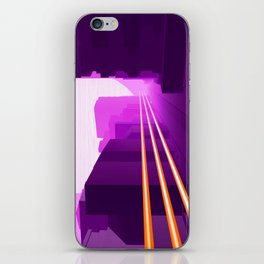 Pink City iPhone Skin