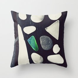 Pea In The Pod Throw Pillow