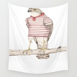 Little Sailor Hawk Wall Tapestry