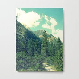 take the long way home Metal Print