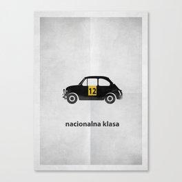 Nacionalna klasa Canvas Print