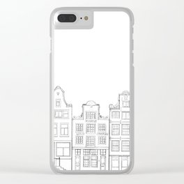 Amsterdam IV Clear iPhone Case