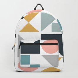 Modern Geometric 09 Backpack