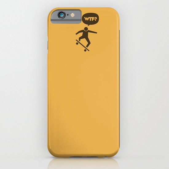 WTF? Skate! iPhone & iPod Case