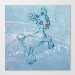 """I'm Cuuute . . . "" Canvas Print"