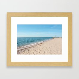 AFE Kew-Balmy Beach 9 Framed Art Print