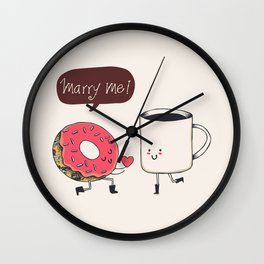 Marry Me Wall Clock