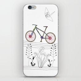 Photo Bicycle iPhone Skin