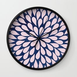 Petal Burst #28 Wall Clock