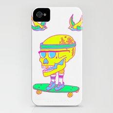 Skull on a skateboard Slim Case iPhone (4, 4s)