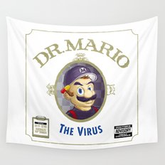 THE VIRUS Wall Tapestry