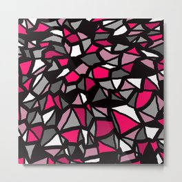 Pink And Grey Are Brothers Metal Print