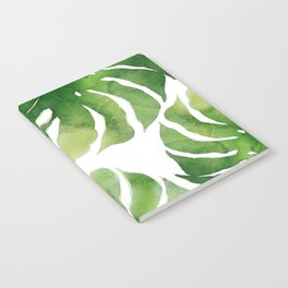 Monstera watercolor I Notebook