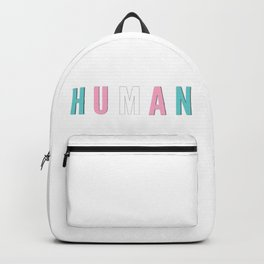 Trans is beautiful Backpack