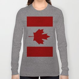 Flag of Canada Long Sleeve T-shirt