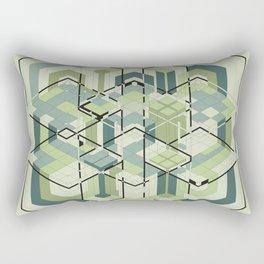 Hexagons #01 Rectangular Pillow