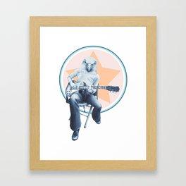 Menagerie Eagle Framed Art Print
