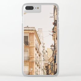 World Travel Clear iPhone Case