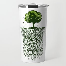 Know Your Roots Artwork Travel Mug