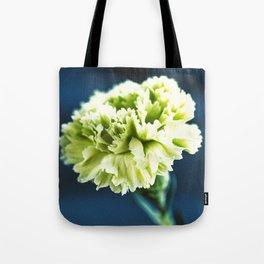 Green Carnation Tote Bag