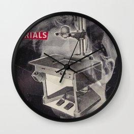 Materials Wall Clock