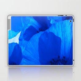 Blue Poppies #decor #society6 #buyart Laptop & iPad Skin