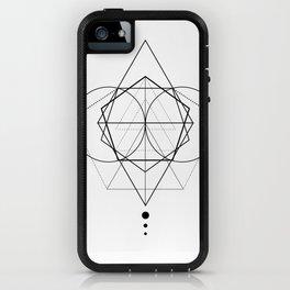 Rhombus dots geometry II iPhone Case
