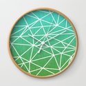 Abstract geometric | green & turquoise by edrawings38