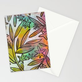 Bright Colorful Jungle Canopy Stationery Cards