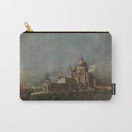 Francesco Guardi - Blick auf Santa Maria della Salute und die Dogana Carry-All Pouch