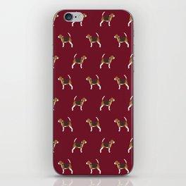 Beagle pattern beagle design cute beagle pillow beagle gifts beagle phone case iPhone Skin
