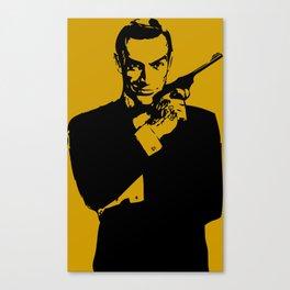 James Bond 007 Canvas Print