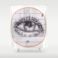 dave grohl Shower Curtains featuring dave by SuperPills