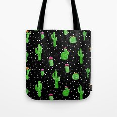 Dotted Cactus Tote Bag