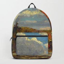 Tom Thomson Hillside, Smoke Lake 1914 Canadian Landscape Artist Backpack