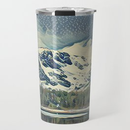 St Mary's Lake Travel Mug