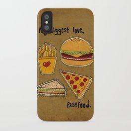 My Biggest Love iPhone Case