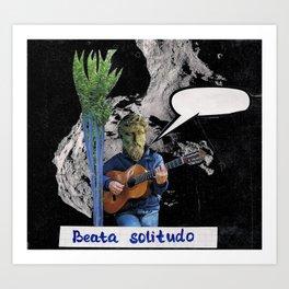 Beata solitudo Art Print