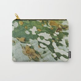 Green Bark Carry-All Pouch