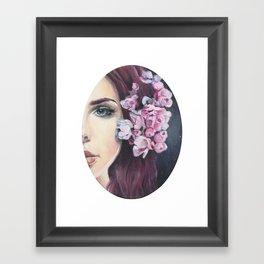 Celestial Mermaid Framed Art Print