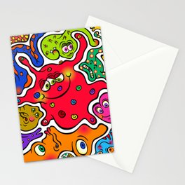Jigsaw Germs Stationery Cards