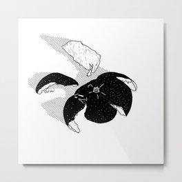 Spacegerine Metal Print