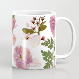 Dusty rose flowers pattern Coffee Mug