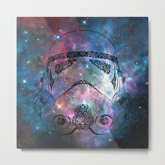 Soldier galaxy Metal Print
