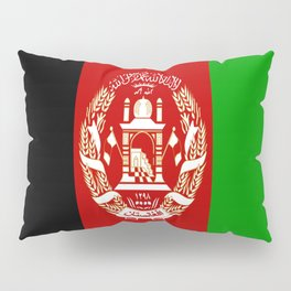 Flag Of Afghanistan Pillow Sham