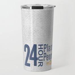 24 Hour Plastic People Travel Mug