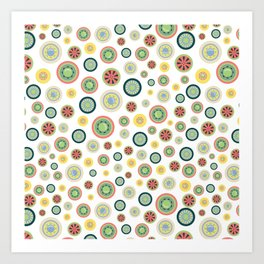 BP 50 Wheels Art Print